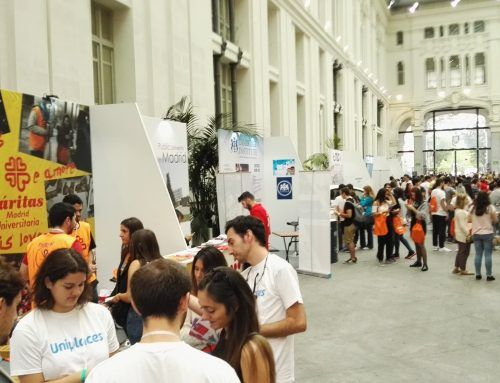 MADRID STUDENT WELCOME DAY JUNTO A FLUGE AUDIOVISUALES