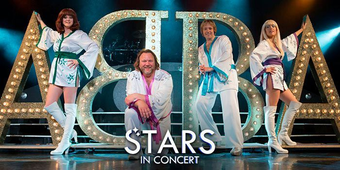 STARS IN CONCERT- Tributo a ABBA cartel